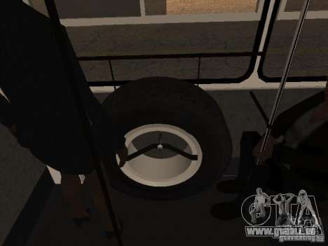 Trailer-Ikarusu 280.46 für GTA San Andreas Rückansicht