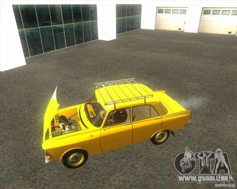 Moskvich 408 für GTA San Andreas rechten Ansicht