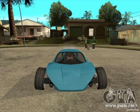 AP3 cobra pour GTA San Andreas vue arrière