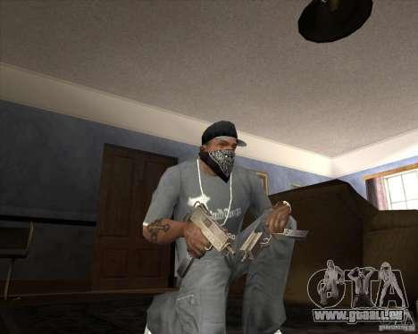 Jarra Mono Arsenal v1.2 für GTA San Andreas zehnten Screenshot