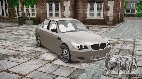 BMW E60 M5 2006 für GTA 4 Innenansicht