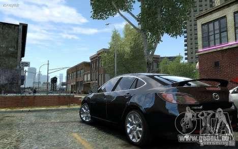 Mazda 6 2008 für GTA 4 linke Ansicht