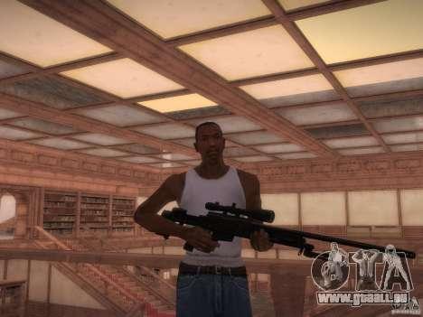 Bibliothek-Karte von Point Blank für GTA San Andreas dritten Screenshot