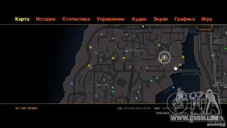 CG4 Radar Map für GTA 4 siebten Screenshot