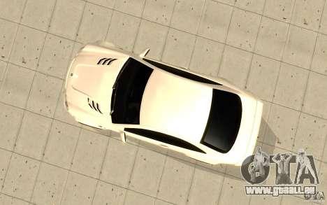 Mercedes-Benz CLK 500 Kompressor für GTA San Andreas Rückansicht
