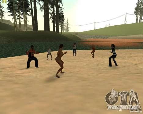 Partei auf die Natur für GTA San Andreas her Screenshot