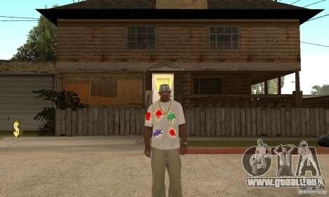 Gotcha Shirt für GTA San Andreas