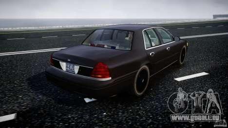Ford Crown Victoria 2003 v2 FBI für GTA 4 Seitenansicht