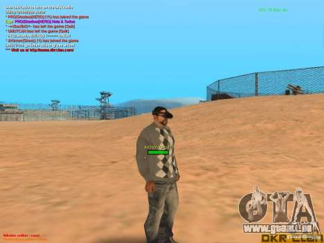 Thermal Goggles für GTA San Andreas her Screenshot
