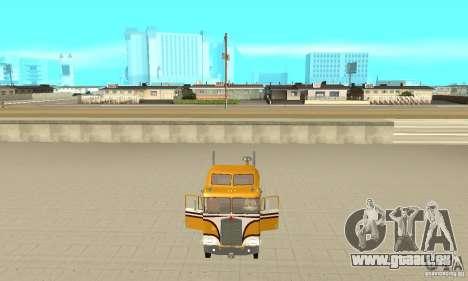 Kenworth K100C Aerodyne pour GTA San Andreas vue arrière