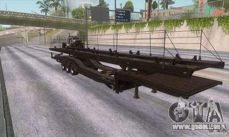 Der Trailer-truck für GTA San Andreas linke Ansicht