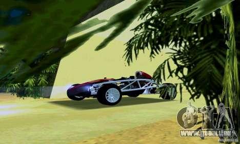 Ariel Atom pour GTA San Andreas laissé vue