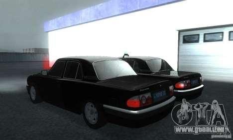 GAZ Volga 31105 Procureur pour GTA San Andreas laissé vue