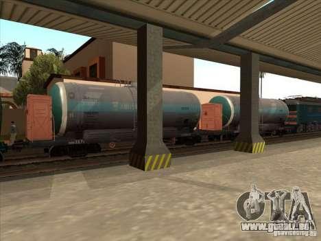 Tank # 57929572 für GTA San Andreas linke Ansicht