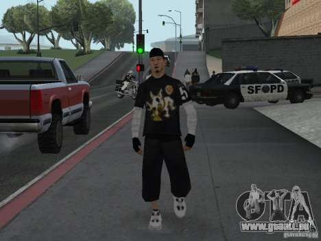 Cops skinpack pour GTA San Andreas quatrième écran