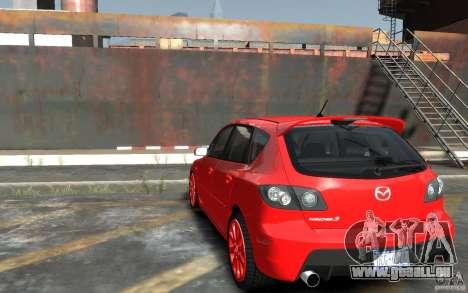 Mazda 3 pour GTA 4 Vue arrière de la gauche