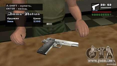 Montage HD pour GTA San Andreas deuxième écran