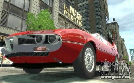 Alfa Romeo Montreal 1970 für GTA 4 rechte Ansicht