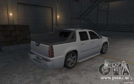 Chevrolet Avalanche v1.0 pour GTA 4 est un droit