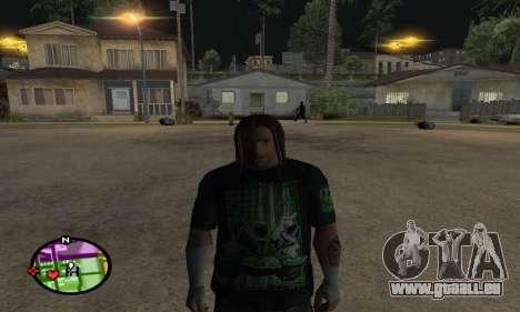 Triple H pour GTA San Andreas troisième écran