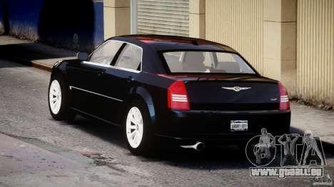 Chrysler 300C SRT8 pour GTA 4 Vue arrière de la gauche