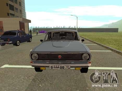 Volga GAZ 24-10 pour GTA San Andreas laissé vue