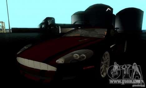 Aston Martin DB9 für GTA San Andreas obere Ansicht