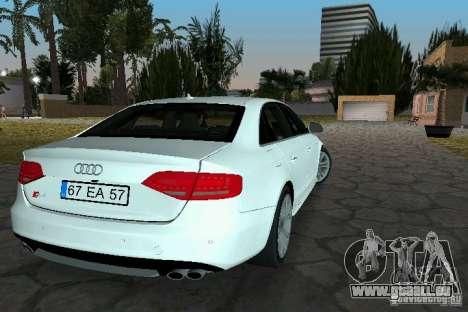 Audi S4 2010 für GTA Vice City linke Ansicht