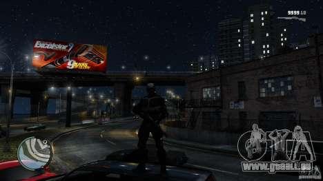 Crysis 2 NanoSuit v4.0 pour GTA 4 quatrième écran
