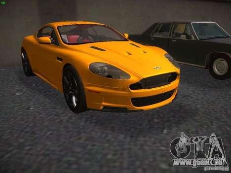 Aston Martin DBS pour GTA San Andreas laissé vue