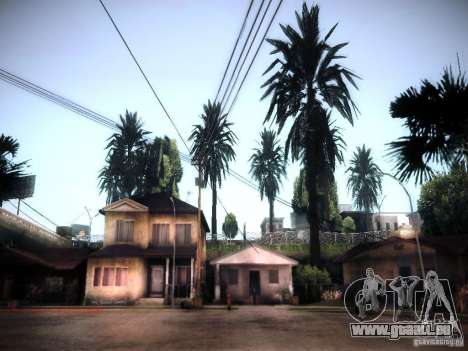 New trees HD für GTA San Andreas
