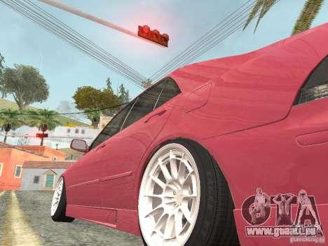Lexus IS300 HellaFlush pour GTA San Andreas vue de droite