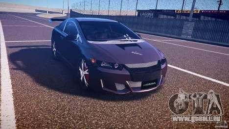 Honda Civic Si Tuning für GTA 4 Rückansicht