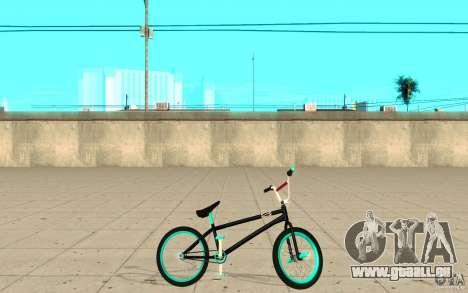 REAL Street BMX mod Black Edition für GTA San Andreas linke Ansicht