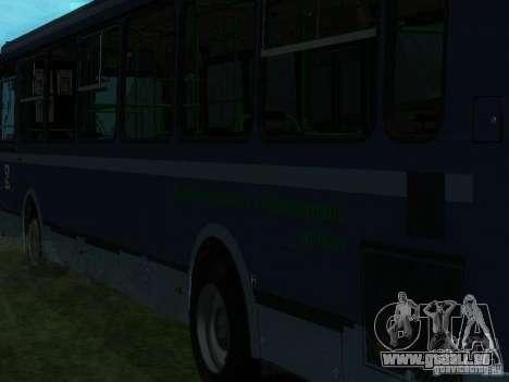 LIAZ 5256-25 pour GTA San Andreas laissé vue