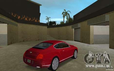 Bentley Continental GT (Final) pour une vue GTA Vice City de la droite