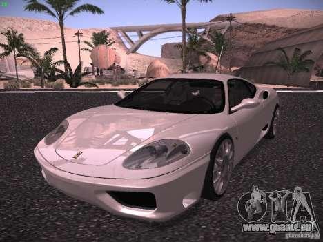 Ferrari 360 Modena für GTA San Andreas