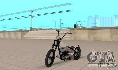 HD Shovelhead Chopper v2. 1-matte für GTA San Andreas
