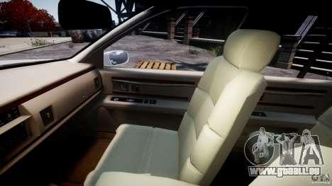 Buick Roadmaster Sedan 1996 v1.0 pour GTA 4 est une vue de l'intérieur