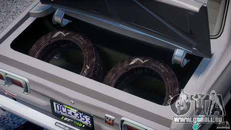 Nissan Skyline Hakosuka (KPGC10) Mountain Drift für GTA 4 Rückansicht