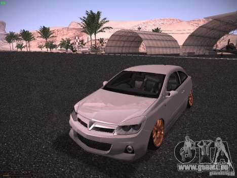 Vauxhall Astra VXR Tuned pour GTA San Andreas