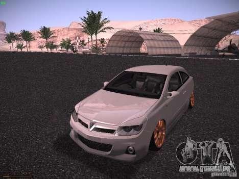 Vauxhall Astra VXR Tuned für GTA San Andreas