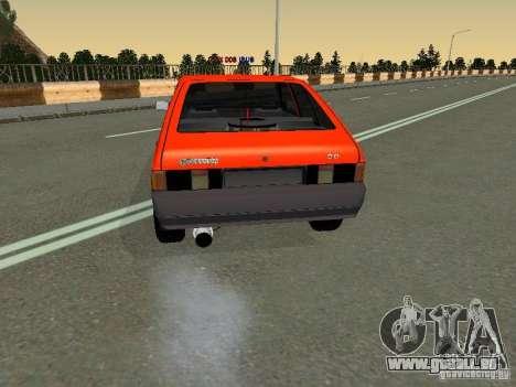 Svyatogor Azlk-2141 45 pour GTA San Andreas sur la vue arrière gauche