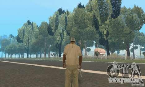 Einem verlassenen Flughafen in der Wüste für GTA San Andreas siebten Screenshot