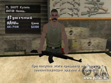 Pak-Inland-Waffen für GTA San Andreas