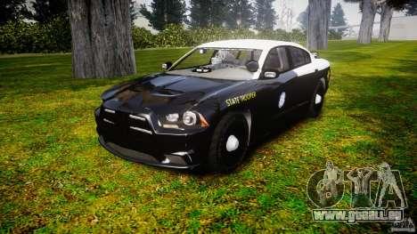 Dodge Charger 2012 Florida Highway Patrol [ELS] pour GTA 4