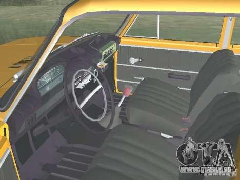 POLICE DE LA CIRCULATION VAZ 21016 pour GTA San Andreas vue arrière