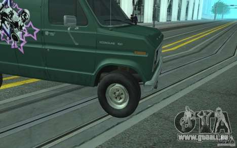 Ford E-150 Short Version v2 pour GTA San Andreas vue de côté