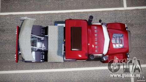 Peterbilt Sport Truck Custom für GTA 4 rechte Ansicht