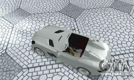 Mercedes-Benz SLR Moss 2008 pour GTA San Andreas sur la vue arrière gauche